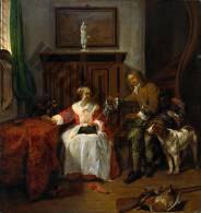 Geschiedenis: Cadeau van de Jager - Gabriël Metsu